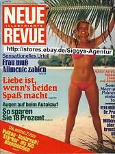 Neue Revue - Nr. 22/1980 vom 24. Mai 1980 - Rarität als Geburtstagsgeschenk