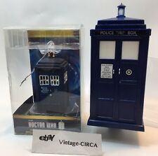 Doctor Who Police Public Call Box Tardis Night Light & Glass Christmas Ornament