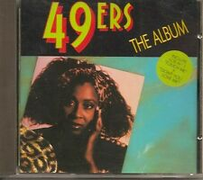 "49ERS ""THE ALBUM"" ITALO DANCE ROSSINI BORTOLOTTI BLANCO Y NEGRO CD SPAIN FRANCE"