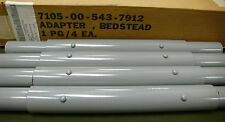 USGI BUNK BED / BEDSTEAD METAL ADAPTER 1 PACKAGE OF 4 NEW IN BOX