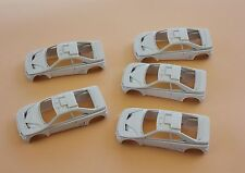 DI' LOT 5 voiture 1/43 Peugeot 405 T16 Rallye raid collector Heco miniatures car