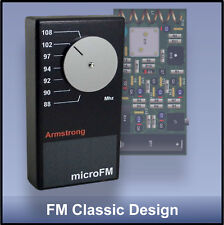 Transistor radio kit - Armstrong pulse counting FM superhet  - classic design