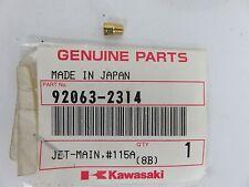 OEM Kawasaki Mule 2500 25010 2520 KAF620 Carburetor Main Jet #115A PN 92063-2314