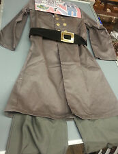 CHILDREN CIVIL WAR CONFEDERATE CSA OFFICER COSTUME UNIFORM SIZE LARGE