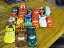 #745m lot of 15 Disney Pixar CARS Assorted Action Figure Characters