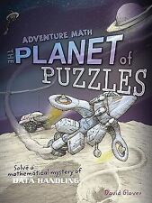Planet of Puzzles (Math Quest)-ExLibrary
