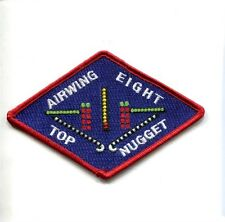 CVW-8 CARRIER AIR WING 8 TOP NUGGET US NAVY Carrier Aircraft Squadron Patch