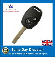 NEW Honda Jazz, Civic, HRV, FRV, Stream Key Remote 2 button ID48 Chip 433 MHz