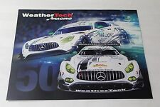 2017 IMSA Rolex 24 at Daytona WeatherTech Mercedes AMG Hero Card