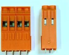 5 X Weidmuller 2 Way PCB Conector, interbloqueo, 500v 32a de 0,5 - 6 mm ² Cable