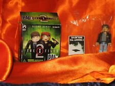 X-Files PALz 2 Mini Figure Special Agent Fox Mulder FBI New!! Palisades Toys