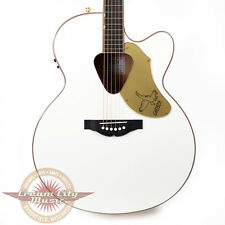 Gretsch G5022CWFE Jumbo Rancher White Falcon Acoustic Electric Guitar Demo