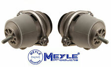 Porsche Cayenne V8 03-10 Set Pair of 2 Left & Right Lower Engine Mounts Meyle