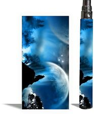 Battery Sticker Skin Fits eGo/Vision/Other Type Vape Cover Vapor Decal MOONLIGHT