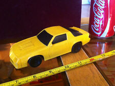 Yellow Plastic Rare or Special made 1987 Matchbox 1:32 Chevrolet CAMARO