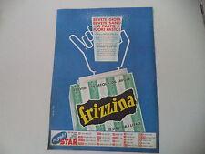 advertising Pubblicità 1965 FRIZZINA STAR