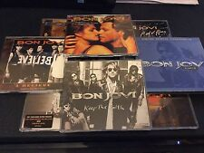BON JOVI CD SINGLE COLLECTION BELIEVE WILD ARMS FAITH ALWAYS NIGHT ROSES HOME