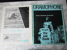 January 1976, GRAMOPHONE, Janet Baker, Ronald Binge, Doug Gamley, M Rosengarten.