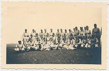 Foto Soldaten im Drillich 2.WK (h605)