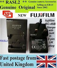 ORIGINALE Fujifilm charger,bc-45b NP-45A FinePix J35 J37, Instax Mini 90