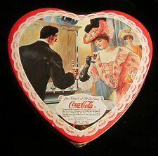 COCA-COLA VANILLA CANDLE SCENTINS 1996 - HEART SHAPED TIN - NIP