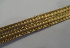 """Gold Orris Navy Lace, 13mm, 0.5"""", Army, Braid, Military, Uniform, Fancy, Braid"""
