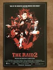 THE RAID 2 BERANDAL  - Movie Poster 4x6 POSTCARD Original Promo Item MINT 2014