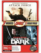 Against The Dark / Attack Force (DVD, 2011) STEVEN SEAGAL = PAL 4