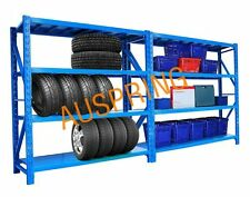 3M 1100KG STEEL WAREHOUSE GARAGE STORAGE ARCHIVE OFFICE SHED SHELVING RACKING