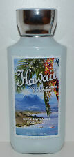NEW BATH & BODY WORKS HAWAII COCONUT WATER PINEAPPLE LOTION CREAM HAND 8 OZ