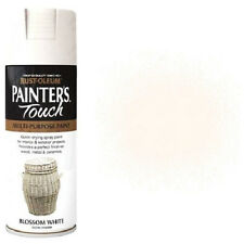 x3 Rust-Oleum Painter's Touch Multi-Purpose Spray Paint Blossom White Satin