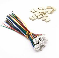 5 sets Micro JST SH 1.0mm 6-Pin Female Connector with Wire and Male Connector