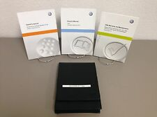 2015 VW Jetta Genuine OEM Owner's Manual w/ Supplements & Case - Free Shipping!