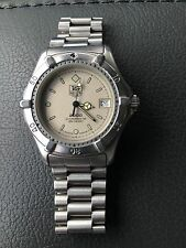 Tag Heuer Sand Beige Gold Professional Classic 2000 Watch Unisex Model 962.208