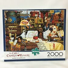 The Cats of Charles Wysocki Puzzle Maggie The Messmaker Jigsaw 2000 PCS Buffalo
