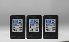 3 pack black ink cartridge for hp 94 3 pk (C8765WN) generic for hp OFFICEJET7210