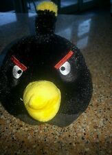 "Angry Birds 6"" Black Bomb Bird Plush - Limited Availability exc b1"