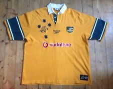 "AUSTRALIA ""THE WALLABIES"" 100 YEARS - VINTAGE RUGBY UNION SHIRT EXTRA LARGE / XL"