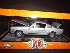 M2 Ford Mustang GT 2 + 2 Fastback 1966 Grey 1/24