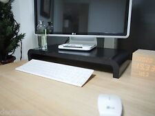 [DecoIsland] Elevated Monitor Riser Platform Shelf Stand for Apple iMac - Black