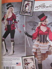 Simplicity 1301 Misses' Top Goth Butterfly Bee PATTERN Size 6-8-10-12-14 NEW
