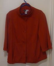 Simply Chloe Dao Red Swing Jacket - Size 1X
