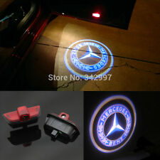 2x Ghost LED Door Step Courtesy Shadow Laser Light 4 Mercedes C-Class W204 08-14