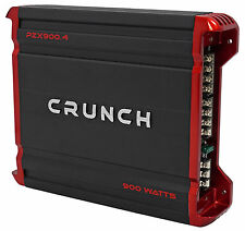 Crunch PZX900.4 900 Watt 4 Channel Great Sounding Car Audio Amplifier Amp