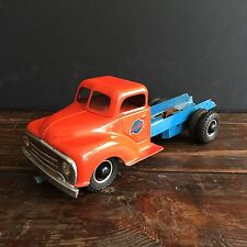 Rare 1950's old german vintage toy - Gama tin metal antique truck