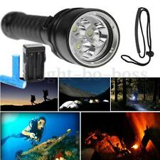 15000Lm 3x T6 LED Diving Flashlight Torcia Waterproof impermeabile