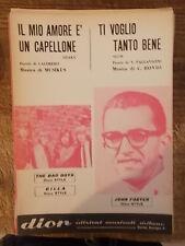 """SPARTITO THE BAD BOYS """"IL MIO AMORE E'..."""" FOSTER """"TI VOGLIO TANTO BENE"""""""