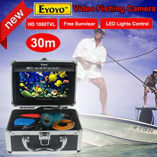 "EYOYO 30m Professional Fish Finder Underwater Fishing Video Camera 7"" HD Monitor"