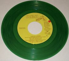 ELVIS  PRESLEY LOVIN' ARMS / YOU ASKED ME TO GREEN COLORED VINYL PROMO 45