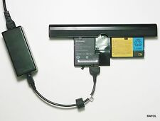 External Laptop Battery Charger for Lenovo Thinkpad X60 X61 Tablet PC, 40Y8318